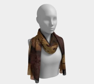 Chocolate Chip cookies Long Scarf preview