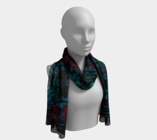 Aperçu de Darkness Reigns Goth Long Scarf