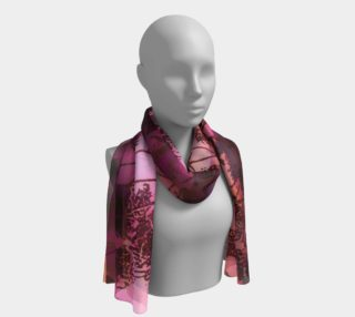Dusk In Pink and Orange Scarf preview