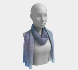 Blue Rose Dance Long Scarf preview