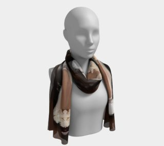 Chocolate Shake Long Scarf preview