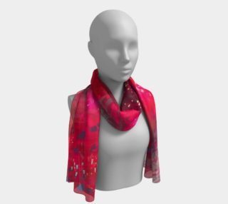 Red Trees Scarf preview