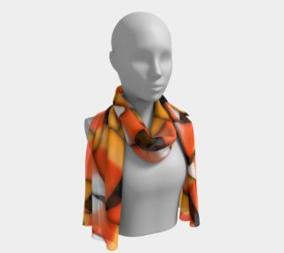 Candy Corn Long Scarf aperçu