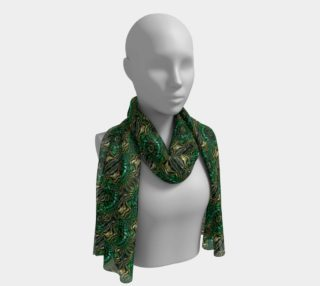Green Goddess Long Scarf preview