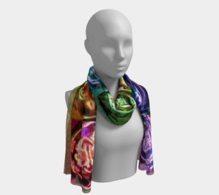 Cymatic Chakra Silk Scarf 3 preview