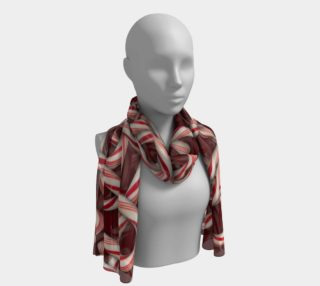 Candy Canes Long Scarf preview