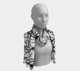 Grunge Chaos Long Scarf by GearX preview