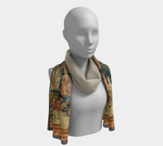 Pastoral Picnic Long Scarf preview