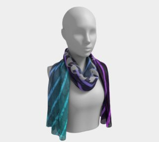 Long Scarf Striped Namaste preview