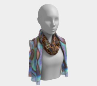 Sea Opal Long Silk Scarf preview