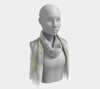 Gardenia Angel Long Silk scarf preview