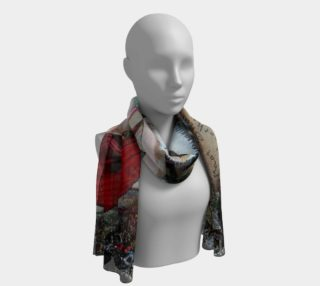 Aperçu de Red and the Big Mad Wolf Scarf