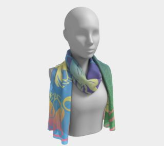 Water-lilies Scarf preview