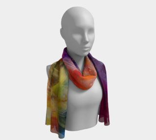 Port Blake Sunset long Scarf preview