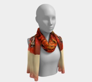 Ambrosia Long Silk Scarf preview