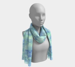 Blue lagoon Long Scarf preview
