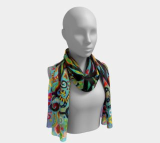 Aperçu de Tree of Life Pastel Long Scarf (16
