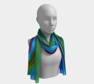 Glass3 Abstract silk scarf_16 preview