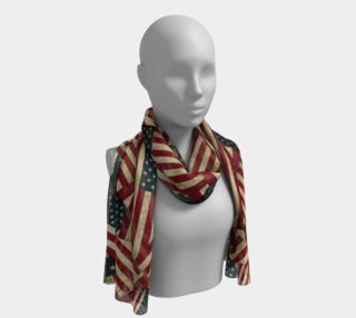 Patriotic Grunge-style American Flag  preview