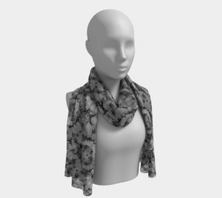 Tribal Roses Goth Scarf preview