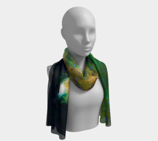 Emerald Nebula Long Scarf preview