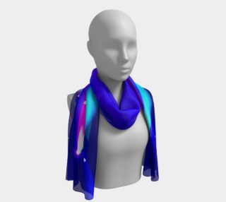 Blue, Turquoise and Pink Long Scarf preview