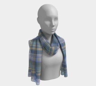 Classic Blue Gray Yellow Plaid preview