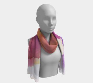 Aperçu de Orchid Flare long scarf