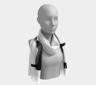 Whippet Silhouette long scarf preview