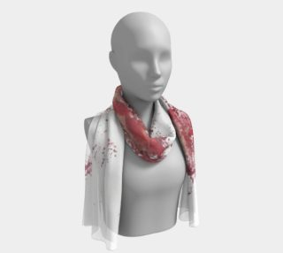 Abstrackt Reds long scarf preview