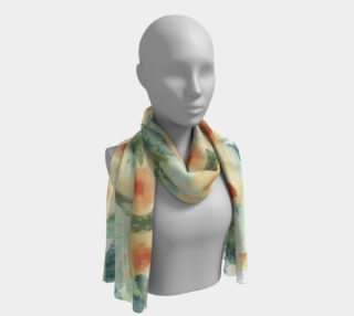 Flowing Floral Scarf preview