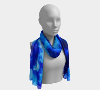 Blue Jellyfish Wildlife Long Scarf preview