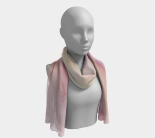Pink Salt Long Scarf 4 preview