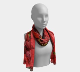 Poinsettia Long Scarf preview