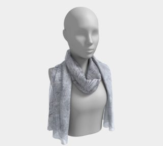 White Frost Long Scarf preview