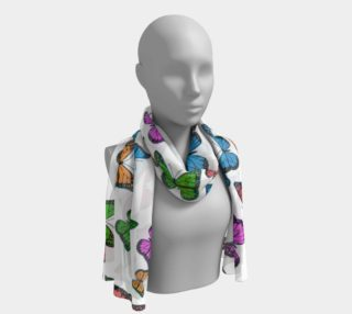 Butterfly Fields Forever Long Scarf preview