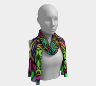 Gloria scarf preview