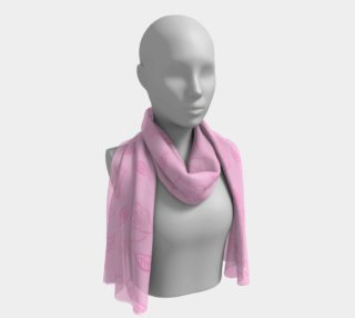 Cartoon Rose Long Scarf preview