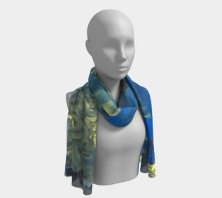 Flowers in the Sky Long Scarf preview