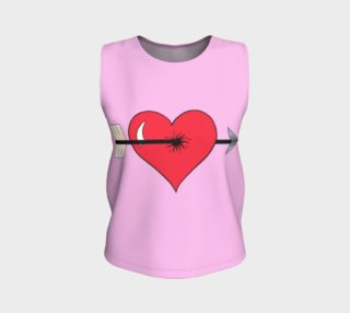 Struck by Cupid's Arrow Loose Tank Top preview