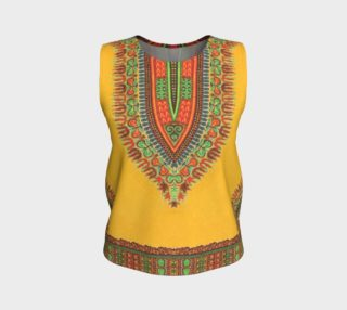 Yellow Dashiki Loose Tank preview