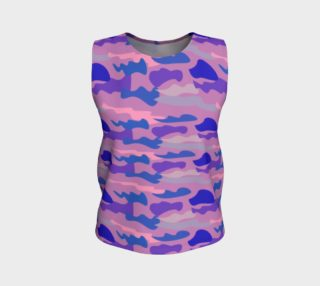 Luxury top pink with blue lines Camu II preview