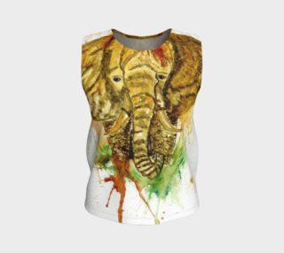 Elephant portrait aperçu