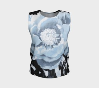 """""""A Peony For Your Thoughts"""" Loose Tank Top preview"""