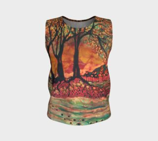 River Sunrise Loose Tank Top preview