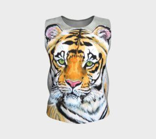 "Aperçu de ""Top Cat"" Tiger - Loose Tank"