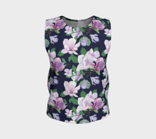 Magnolia Floral Frenzy Loose Tank Top preview