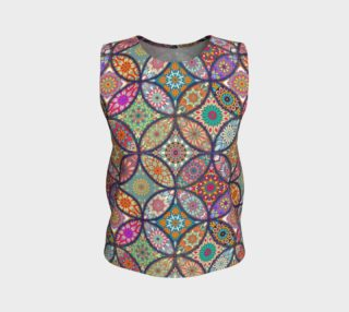 Vibrant Mandalas Loose Tank preview
