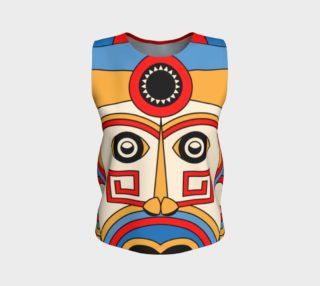 geometric tribe mask aperçu