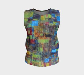 Abstract Mosaic Loose Tank aperçu